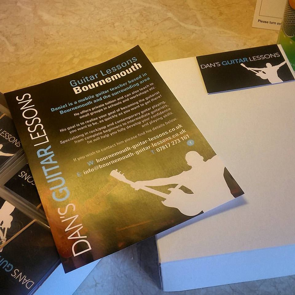 Business cards and flyers have arrived! Who wants one? - Bournemouth ...
